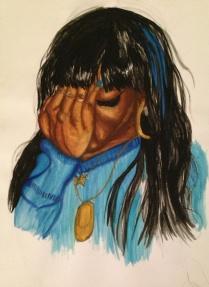 Regret - watercolour