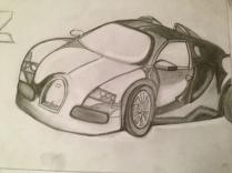 Bugatti - pencil