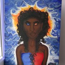 Idie Okwonko (xmen) - acrylic