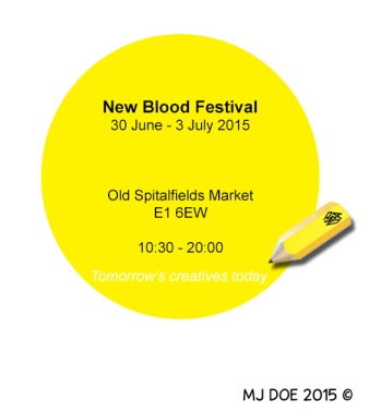 Advertise D&AD's New Blood Exhibition: Idea 2