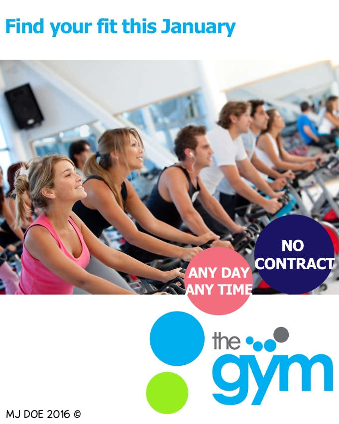 Advertise the gym