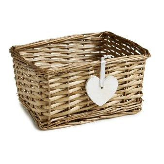 Wilco Wicker Basket